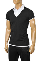 ARMANI JEANS Men's Short Sleeve Shirt #202