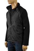 EMPORIO ARMANI Men's Warm Zip Up Jacket #112