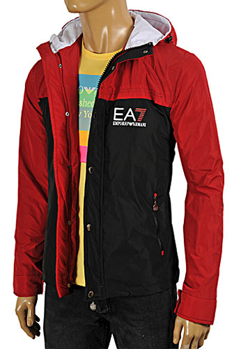 EMPORIO ARMANI Windproof/Waterproof Zip Up Jacket #119