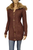 EMPORIO ARMANI Ladies Coat/Jacket With Fur #78