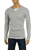 EMPORIO ARMANI Men's Cotton Long Sleeve Shirt #214