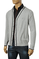 ARMANI JEANS Men's V-Neck Button Up Sweater #140