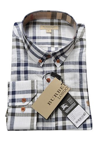 BURBERRY Men's Button Up Shirt #129