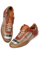BURBERRY Men's Leather Sneaker Shoes #238