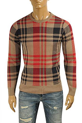 BURBERRY Men's Round Neck Knitted Sweater #220