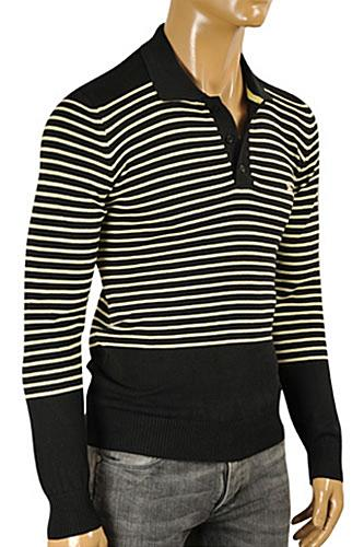 BURBERRY Men's Polo Style Knitted Sweater #221
