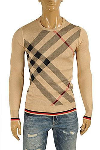 BURBERRY Men's Round Neck Knitted Sweater #223