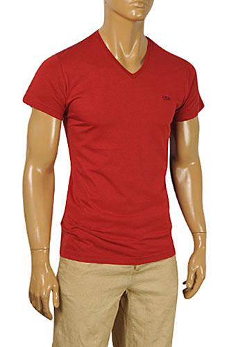 BURBERRY Men's V-Neck Short Sleeve Tee #202
