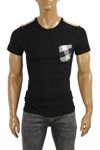 BURBERRY Men's Cotton T-Shirt In Black #241