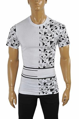 BURBERRY Men's Cotton T-Shirt #242