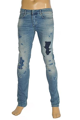 Roberto Cavalli Men's Fitted Jeans #109