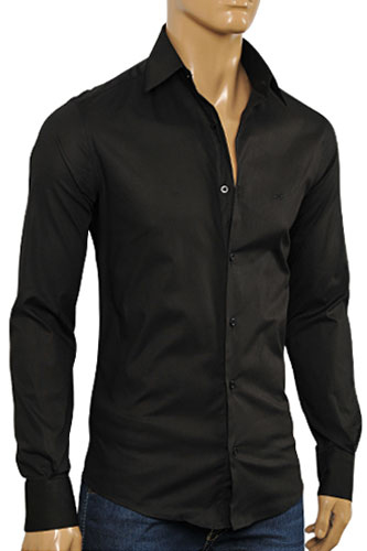 DOLCE & GABBANA Men's Button Down Dress Shirt #438