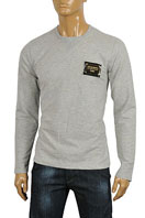 DOLCE & GABBANA Men's Long Sleeve Cotton Shirt #376