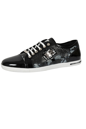 DOLCE & GABBANA Men's Leather Sneaker Shoes #255