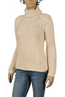 DOLCE & GABBANA Ladies Turtle Neck Knitted Sweater #195