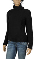 DOLCE & GABBANA Ladies Turtle Neck Knitted Sweater #196