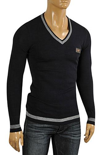 DOLCE & GABBANA Men's Knit Fitted Sweater #236
