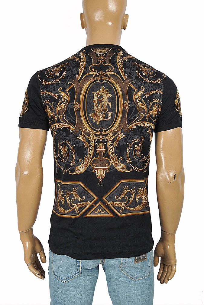 Mens Designer Clothes | DOLCE & GABBANA men's t-shirt with multiple print 264