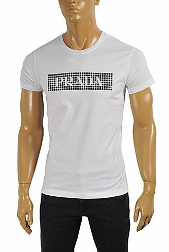 PRADA Men's cotton T-shirt with print #104