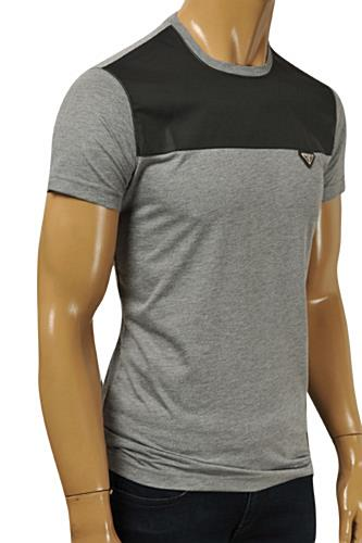 PRADA Men's Short Sleeve Fitted Tee #91